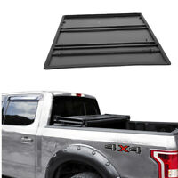 JDMSPEED Lock Tri-Fold Soft Tonneau Cover For 2005-2019 TOYOTA TACOMA 5ft Bed