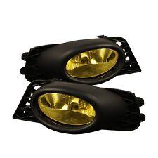 Spyder Auto Honda Civic 09-11 4Dr OEM Fog Lights - Yellow 5020703