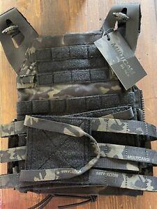 Crye Precision JPC 2.0 Jumpable Plate Carrier Vest - MULTICAM BLACK - MEDIUM