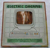VARIOUS LP ELECTRIC DREAMS VINYL 33 GIRI ITALY 1984 VIRGIN V 2318 NM/NM