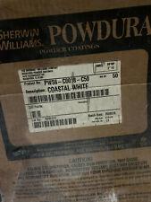 (24 lbs.) Sherwin Williams Powdura Super Durable Powder Coating - Coastal White