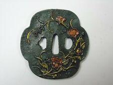 "Eisentsuba Edo-Periode 18/19 Jahrhundert """"Blütenranken II""  Japan, Katana"