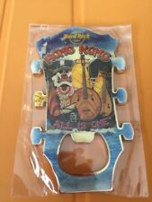 Hard Rock Cafe Hong Kong Dragon Junk Boat Yueqin Guitar Head Opener Magnet