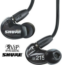Shure SE215-k Sound Isolating In-Ear DJ Monitoring Headphones/Earphones*NEW*