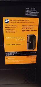 HP Pavilion Elite HPE-170f PC Intel core I7 2.26GHz 9GB 1TB TOWER PC