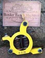 """CUT-BACK LINER"" BORDER TATTOO MACHINE,CUSTOM IRON FRAME 7&HALF LAYER 32MM COILS"