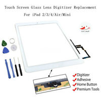 Touch Screen Digitizer Replacement For Apple iPad 2/3/4/Air/Mini - Black / White