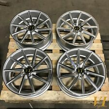 "4 x VIP ESH alloys - 18"" x 8"" et45 5x112 Mk5 Mk6 Mk7 Golf Audi A3 Directional"