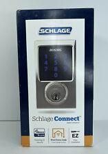 SCHLAGE CONNECT SMART DEADBOLT ALARM CENTURY BRIGHT CHROME BE469ZP V CEN 625