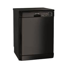 Montpellier DW1254K Black Fullsize Dishwasher