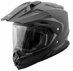 Fly Racing Trekker Helmet Matte Black