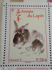 FRANCE 2011, TP 4531 NOUVEL AN CHINOIS, ANNEE du LAPIN, CHINA RABBIT YEAR, MNH