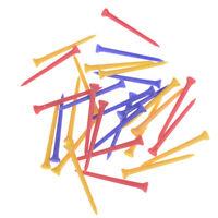 30Pcs/Pack Plastic Golf Tees Multi Color 8.3CM  Plastic Golf Tee Accessories FT