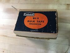 Calrad Model BE-5 Bulk Tape Demagnetizer