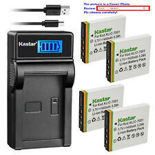 Kastar Battery LCD Charger for Kodak KLIC-7001 & Kodak EasyShare V750 Camera