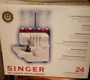 NIB SINGER ULTRALOCK SERGER SEWING MODEL 14SH654  STITCH FUNCTIONS