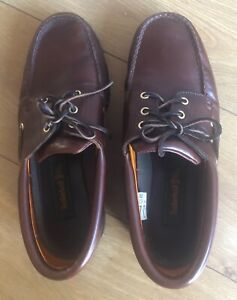 Men's Timberland Moccasin / Boat 3 eye Classic Shoes