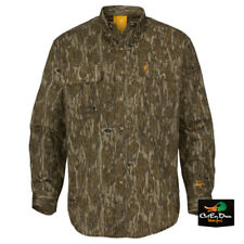 NEW BROWNING WASATCH CB SHIRT LONG SLEEVE BUTTON UP BOTTOMLAND CAMO