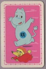 Swap Playing Cards 1 Japanese 60's Moomins 'TV Series' Anime 3/4 Size A38