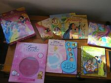 Mixed Lot of Disney Princess Play-A-Song Figurines Playmat My Little Pony Books