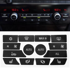 For BMW 5 Series AC Dash Climate Control Panel Button Repair Sticker Decal