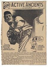 1940 newspaper feature Active Ancients by Sords - John Allen Cleveland Indians