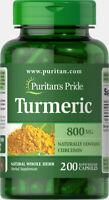Puritan's Pride Turmeric 800 mg-200   Capsules