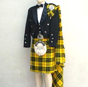 18 Pcs   Scottish Prince Charlie Jacket and KIlt outfit set   PCJK18   Geoffrey