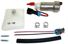 Walbro 450HP In-Tank E85 Fuel Pump + Install Kit Mitsubishi EVO 7 8 9 10