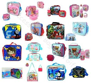 Children's Character Kids School Lunch Set 3Pc Set or Lunch Bag Only Disney Lol