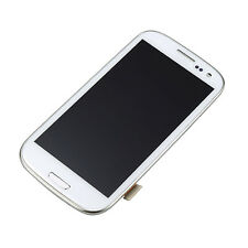 For Samsung Galaxy S3 i9300 LCD Display Digitizer Touch Screen Glass Lens +Frame