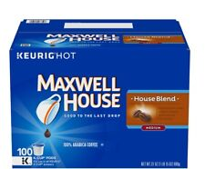 Maxwell House, House Blend Coffee K-Cups (100 ct.) KEURIG -US Seller