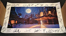 Trans Siberian Orchestra signed canvas poster from the 05 tour.