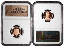 2011-S Proof 1c Lincoln Union Shield NGC PF70UC Red Early Releases