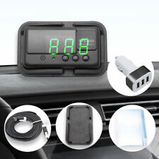 2018 Universal GPS HUD Digital Head Up Display Car Speed Warning + 3USB Adapter