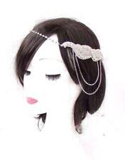 1920 S coiffe plumes Garçonne Headband Great Gatsby coiffure Rétro bal Charm