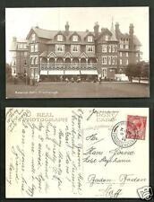Crowborough rppc Beacon Hotel Croquet Wealden Sussex England stamp 1914