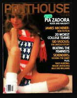 PENTHOUSE10/1983 Audrey, Nadine Greenlaw, Pia Zadora
