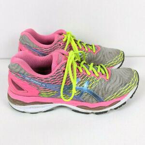 Asics Gel Nimbus 18 Running Shoes Women's Size 8.5 (T650N) VGUC