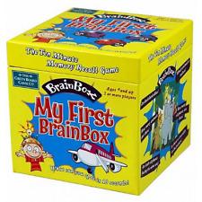 *NEW* THE GREEN BOARD GAME CO. My First Brain Box BrainBox - Memory Recall Game