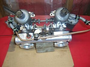 "Morris Cooper S Twin 1.1/4"" factory  SU Carbys"