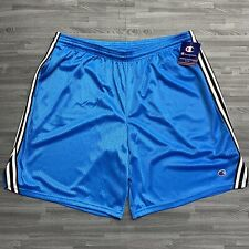 """New listing NWT Men's Size 2XL Champion 9"""" Mesh Jersey Lacrosse Shorts in Blue Basketball"""