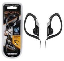 Panasonic In Ear Clip Type Water Resistant Sports Gym Headphones RP-HS34 - Black