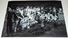 TOTTENHAM HOT SPURS 1984 UEFA CUP FINAL  X12 PERSONALLY HAND SIGNED 16X12 PHOTO