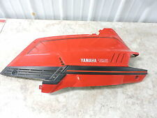 97 Yamaha XC125 XC 125 Riva Scooter left side cover panel cowl fairing