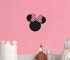 Minnie Mouse Cabeza LAZO PERSONAJES DISNEY DIBUJOS ANIMADOS Arte Pegatina IMAGEN