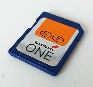 TomTom One UK & IE Maps SD Card