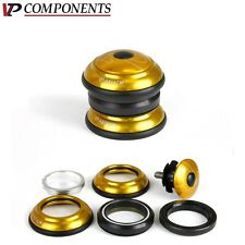 """Gold Alloy Headset 1-1/8"""" VP-A61 Threadless Bicycle Part"""
