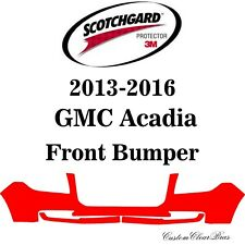 3M Scotchgard Paint Protection Film Clear Pre-Cut 2013 2014 2015 2016 GMC Acadia