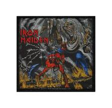 IRON MAIDEN - NUMBER OF THE BEAST - WOVEN PATCH - BRAND NEW - MUSIC BAND 2562